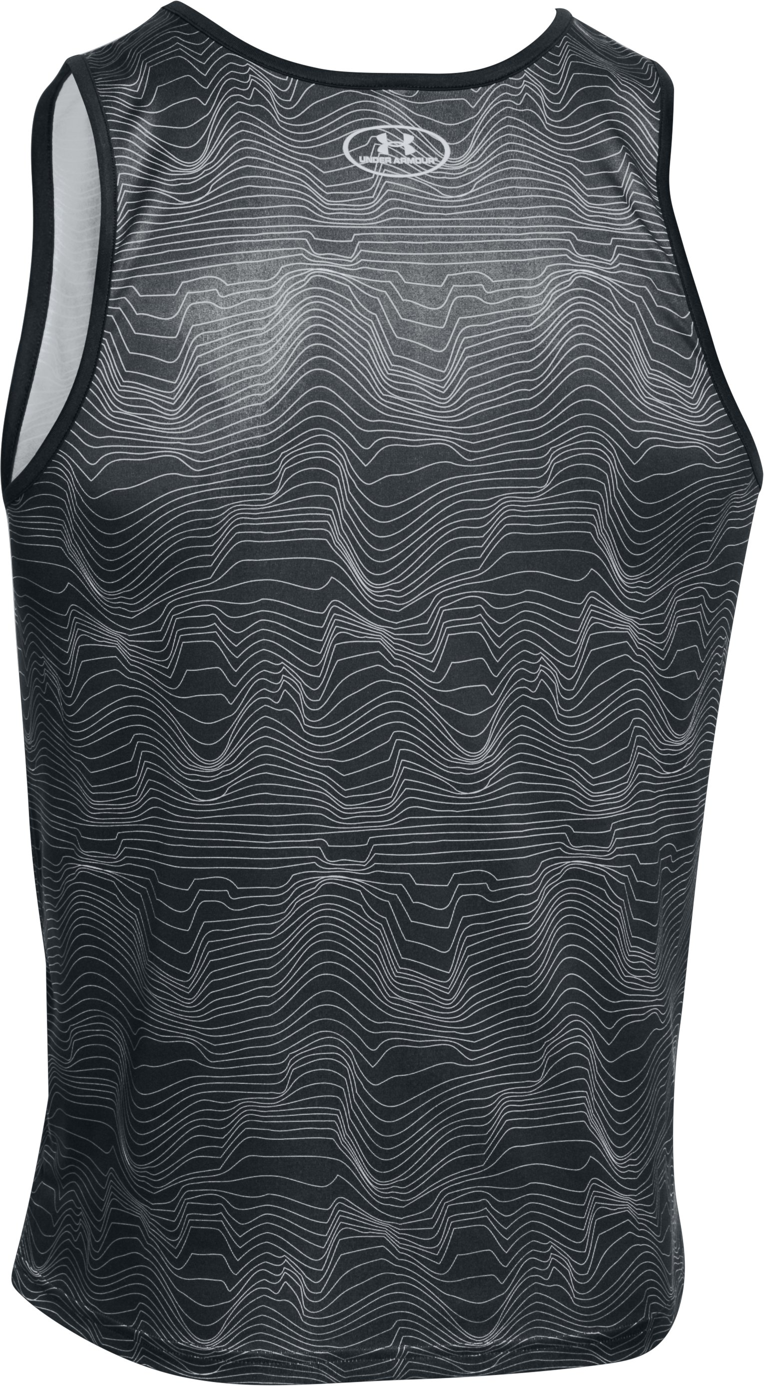 Men's UA Bender Tank, ANTHRACITE