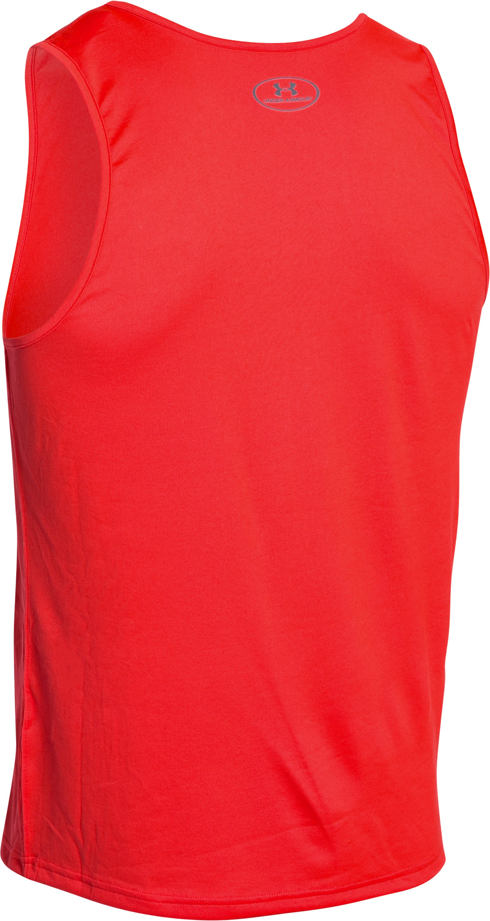 Men's UA Bender Tank, ROCKET RED,