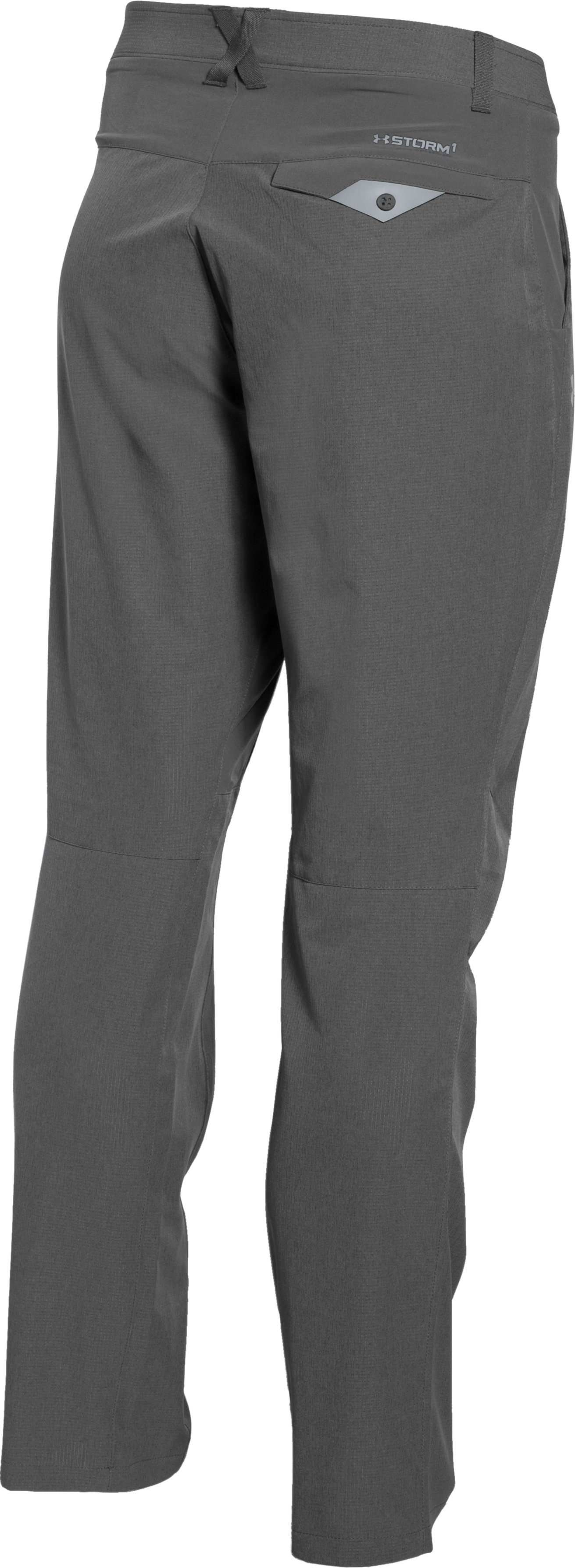 Men's UA ArmourVent™ Trail Pants, GRANITE,