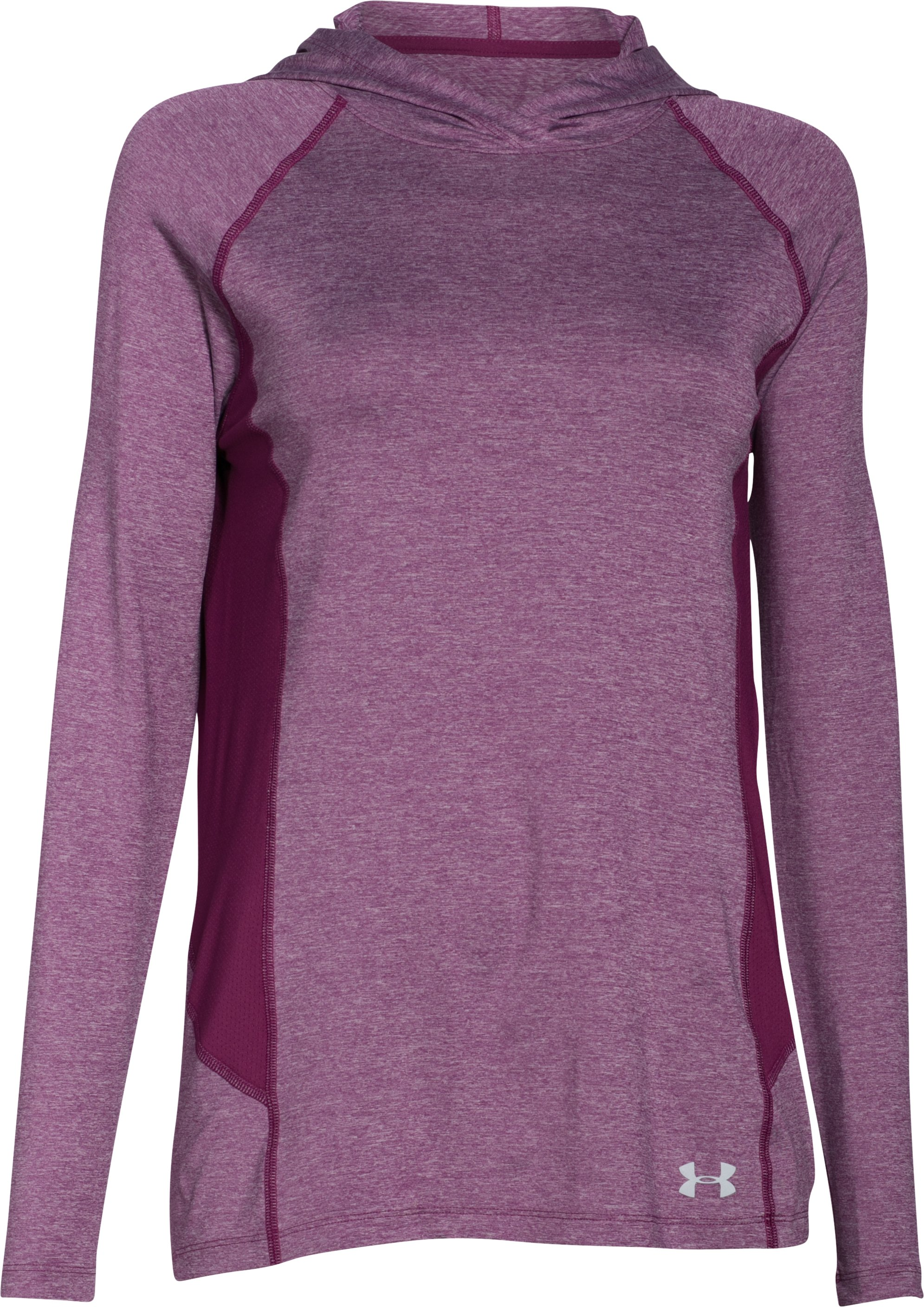 Women's UA CoolSwitch Trail Hoodie, Beet
