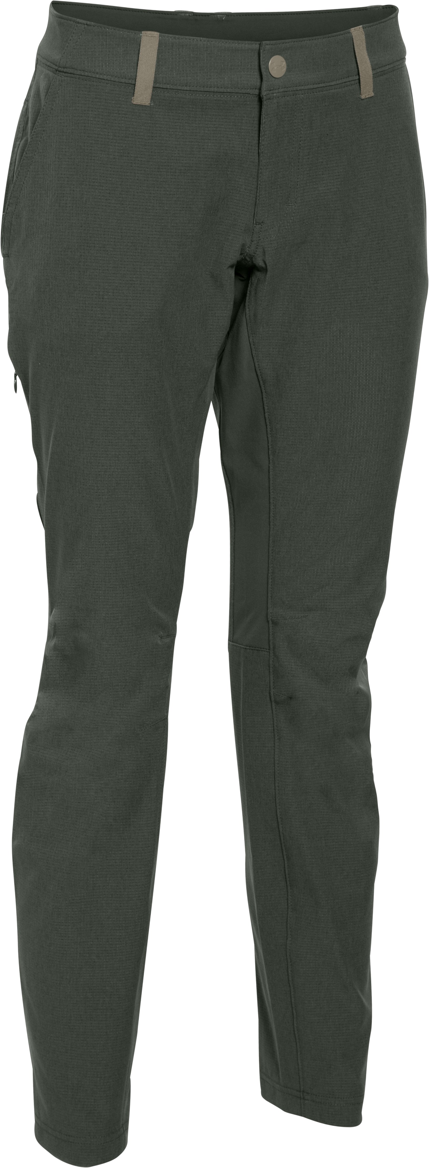 Women's UA ArmourVent™ Trail Pant, COMBAT GREEN, undefined