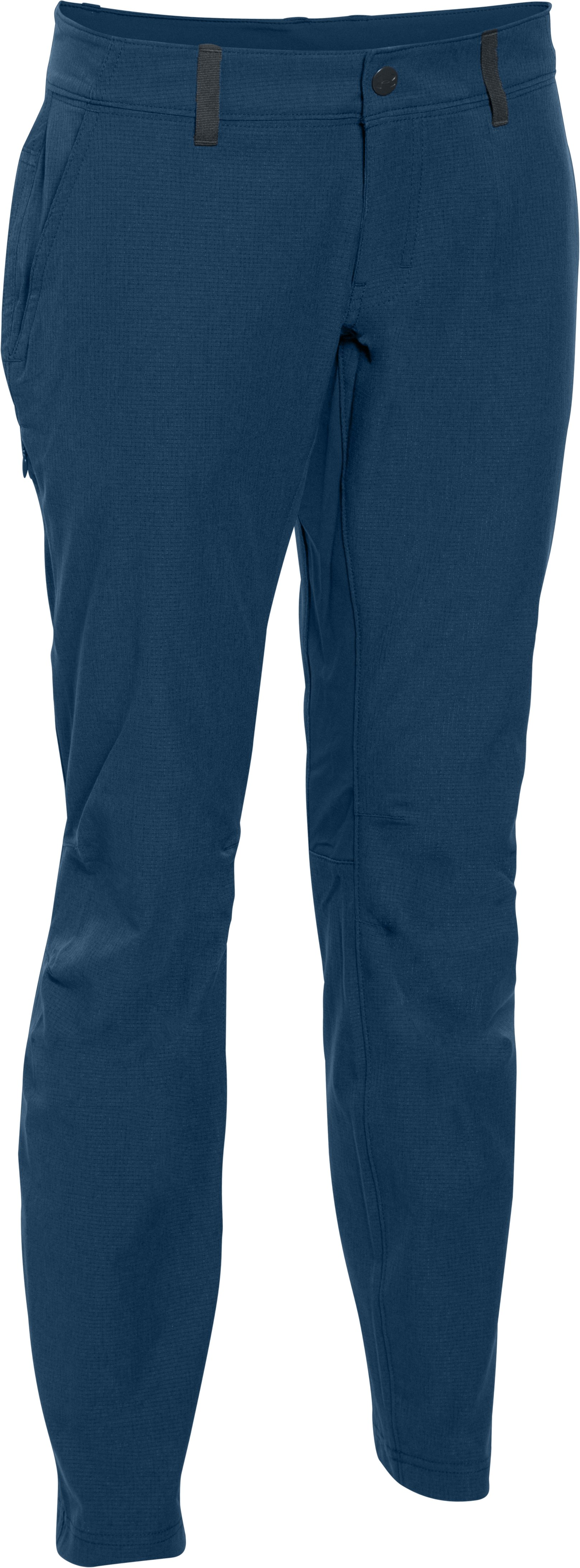 Women's UA ArmourVent™ Trail Pant, BLACKOUT NAVY