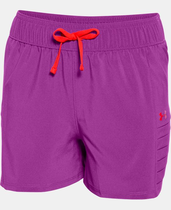 Girls' UA Woven Short  1 Color $29.99