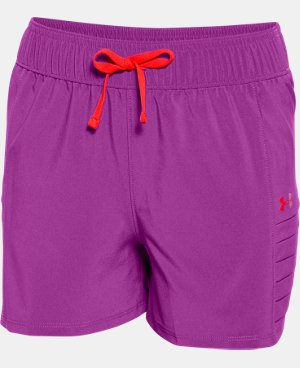 Girls' UA Woven Short LIMITED TIME: FREE SHIPPING 1 Color $22.99