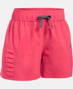 Girls' UA Woven Shorts  1 Color $14.24