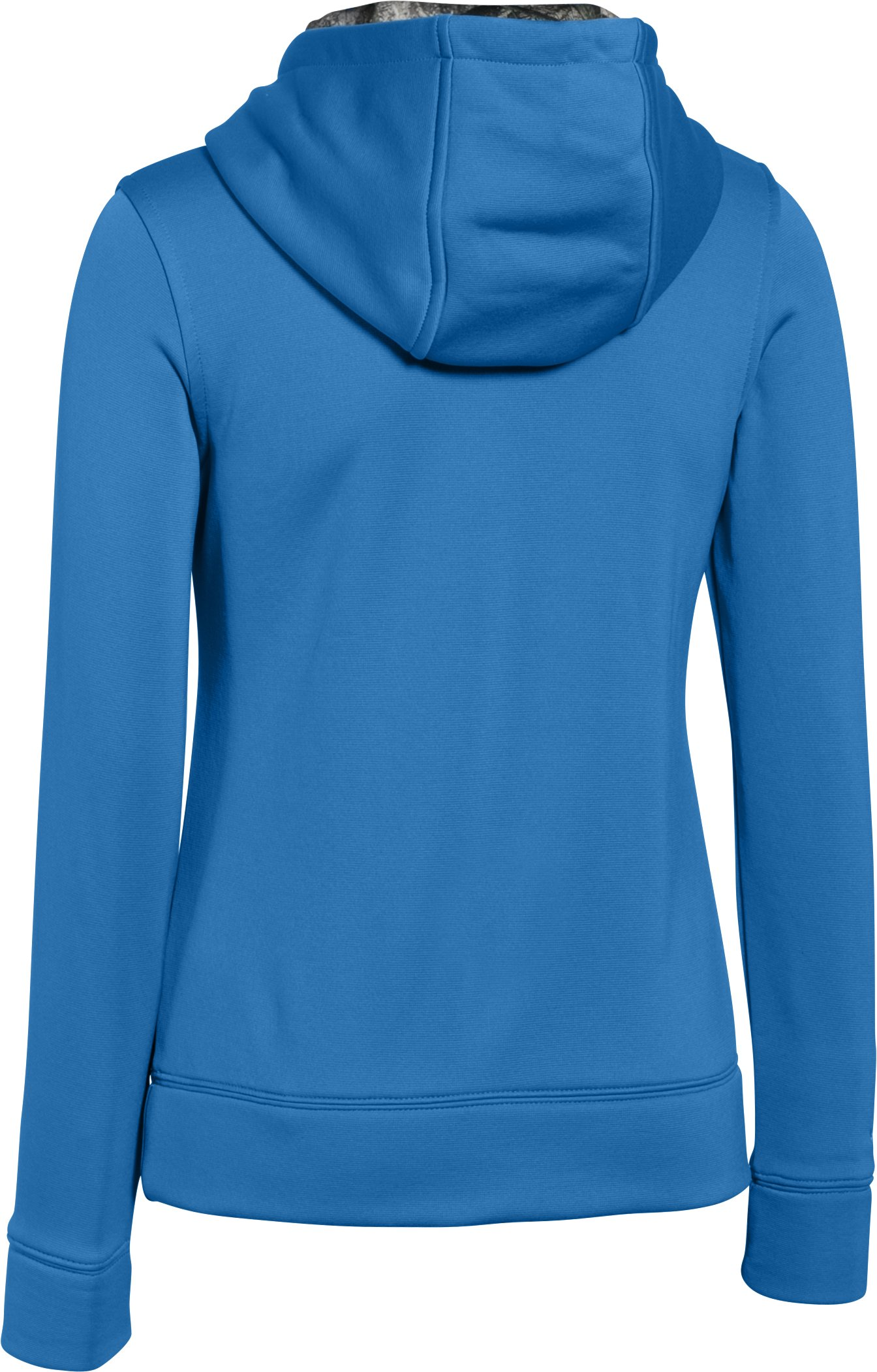 Girls' UA Caliber Hoodie, PICASSO BLUE, undefined