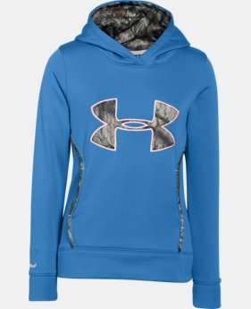Girls' UA Caliber Hoodie  2 Colors $41.99