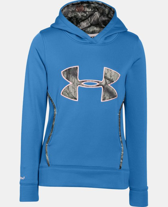Girls' UA Caliber Hoodie LIMITED TIME: FREE SHIPPING 2 Colors $48.99