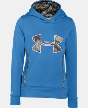 Girls' UA Caliber Hoodie  1 Color $48.99