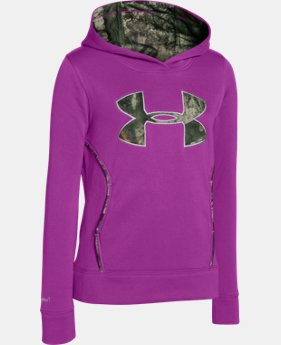 Girls' UA Caliber Hoodie  1 Color $31.49 to $41.99