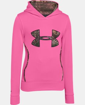 Girls' UA Caliber Hoodie  1 Color $64.99