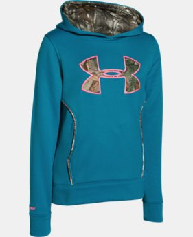 Girls' UA Caliber Hoodie LIMITED TIME: FREE U.S. SHIPPING 1 Color $32.99