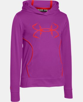 Girls' UA Fish Hook Hoodie  1 Color $39.99