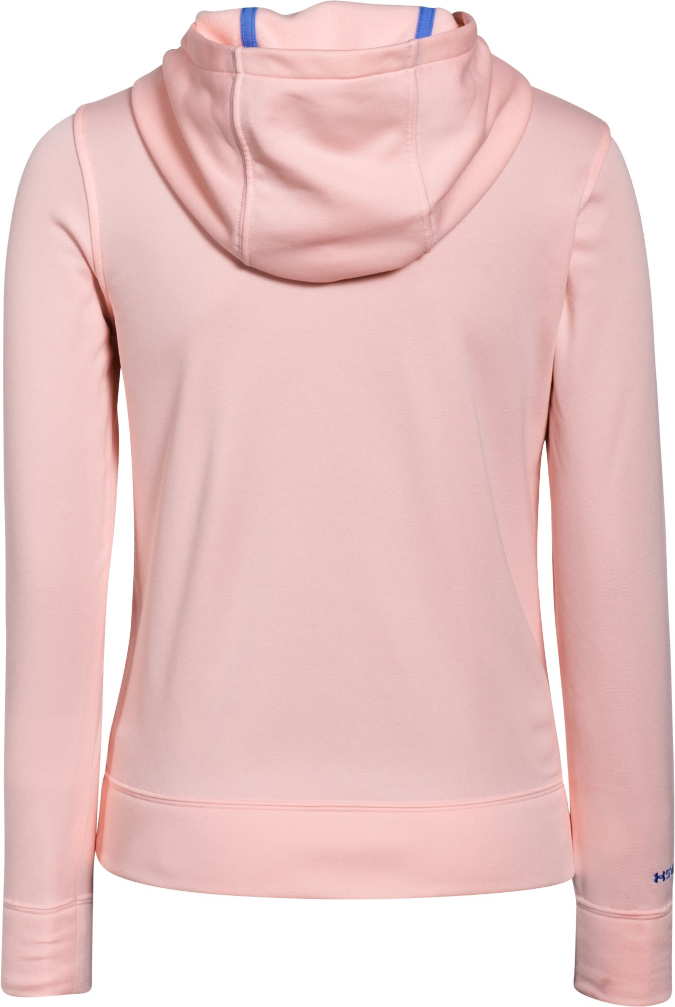 Girls' UA Fish Hook Hoodie, BALLET PINK, undefined