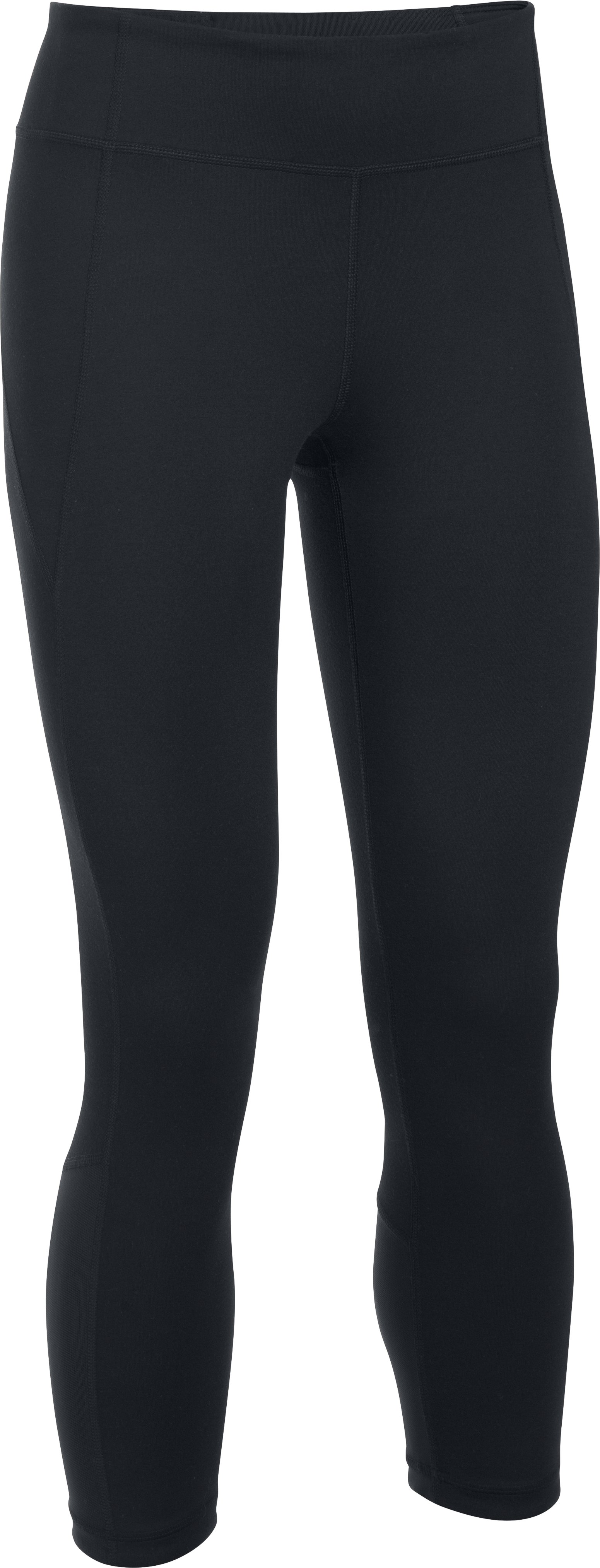 Women's UA Mirror Crop, Black