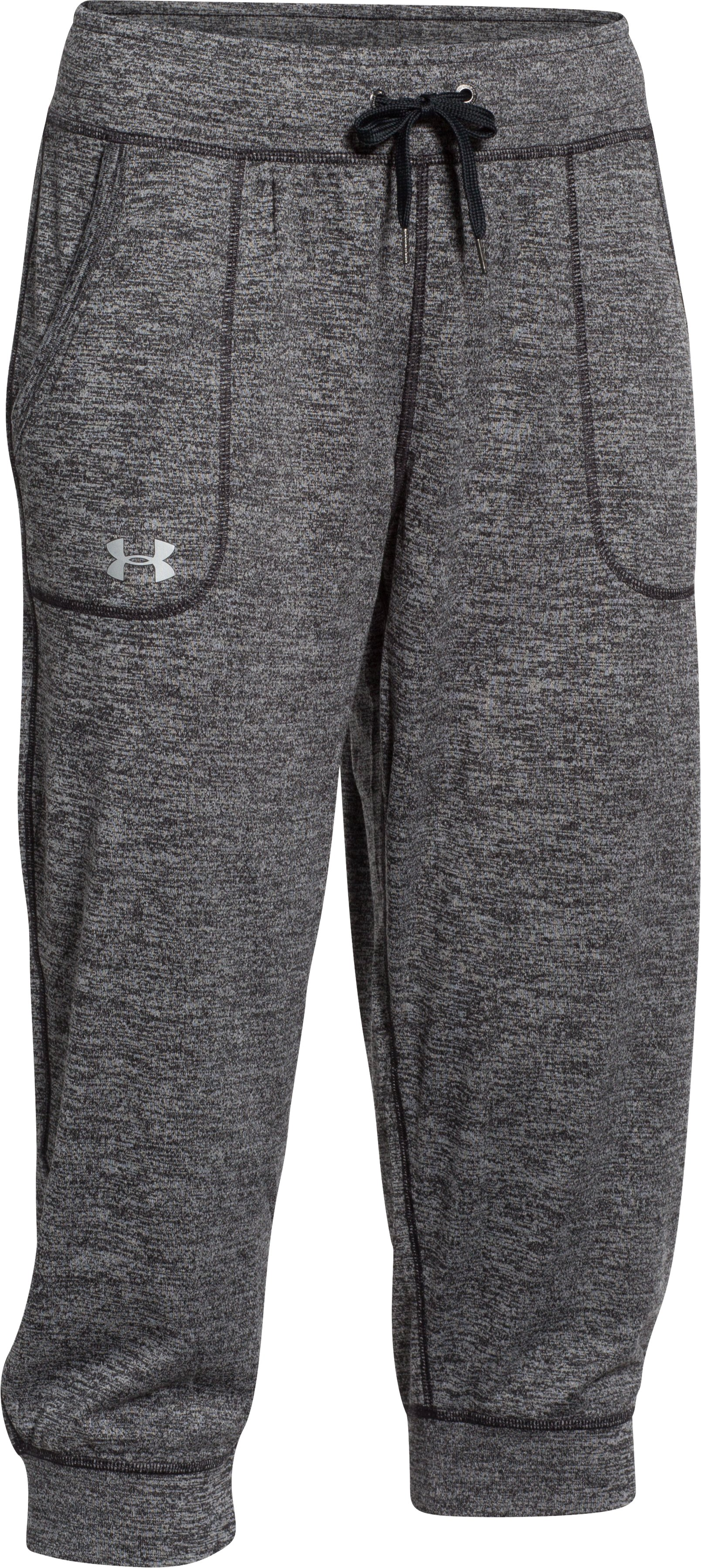 Women's UA Tech™ Twist Capris, Black