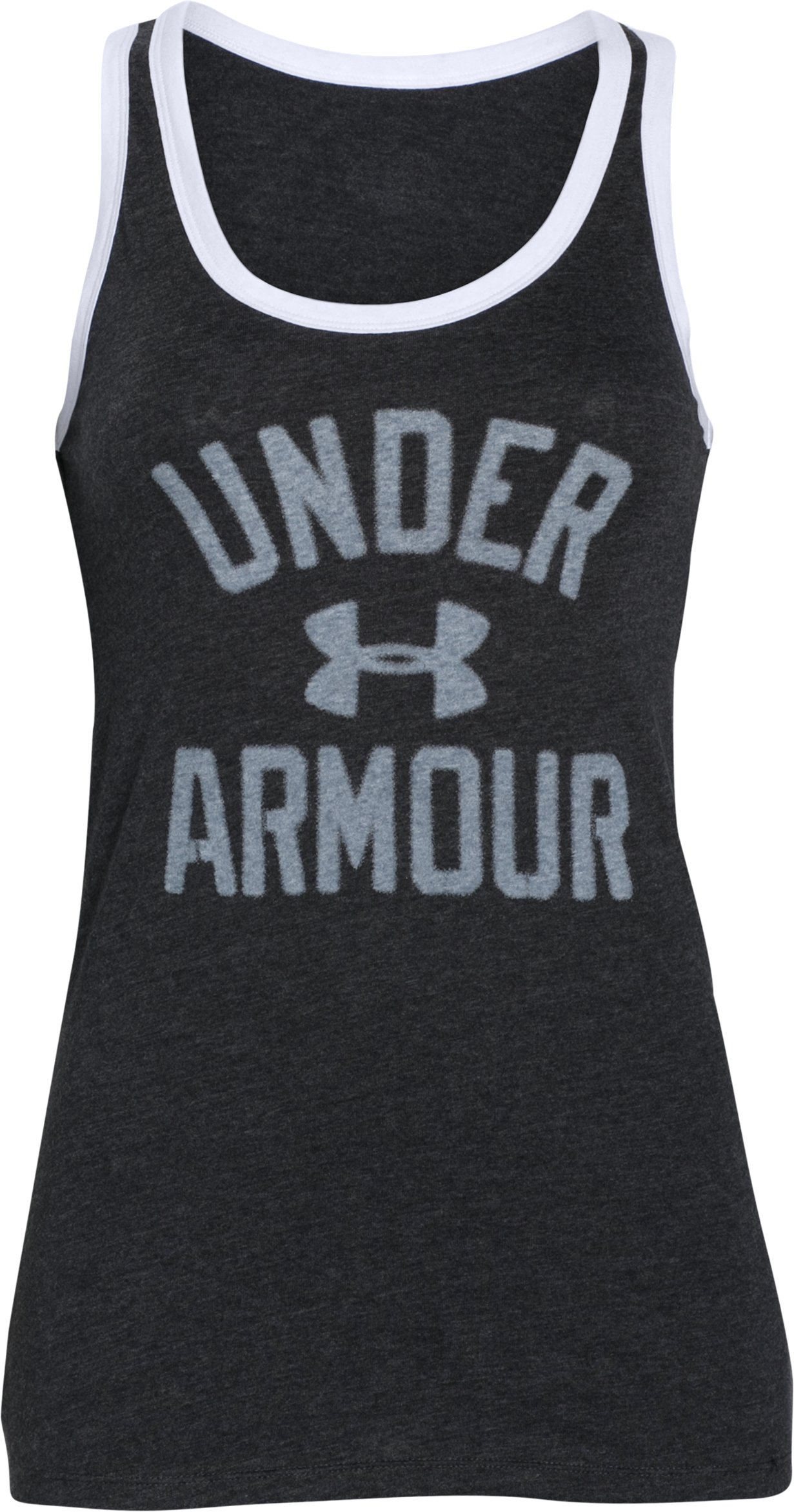 Women's UA Favorite Graphic UNDER ARMOUR Tank, Black , undefined