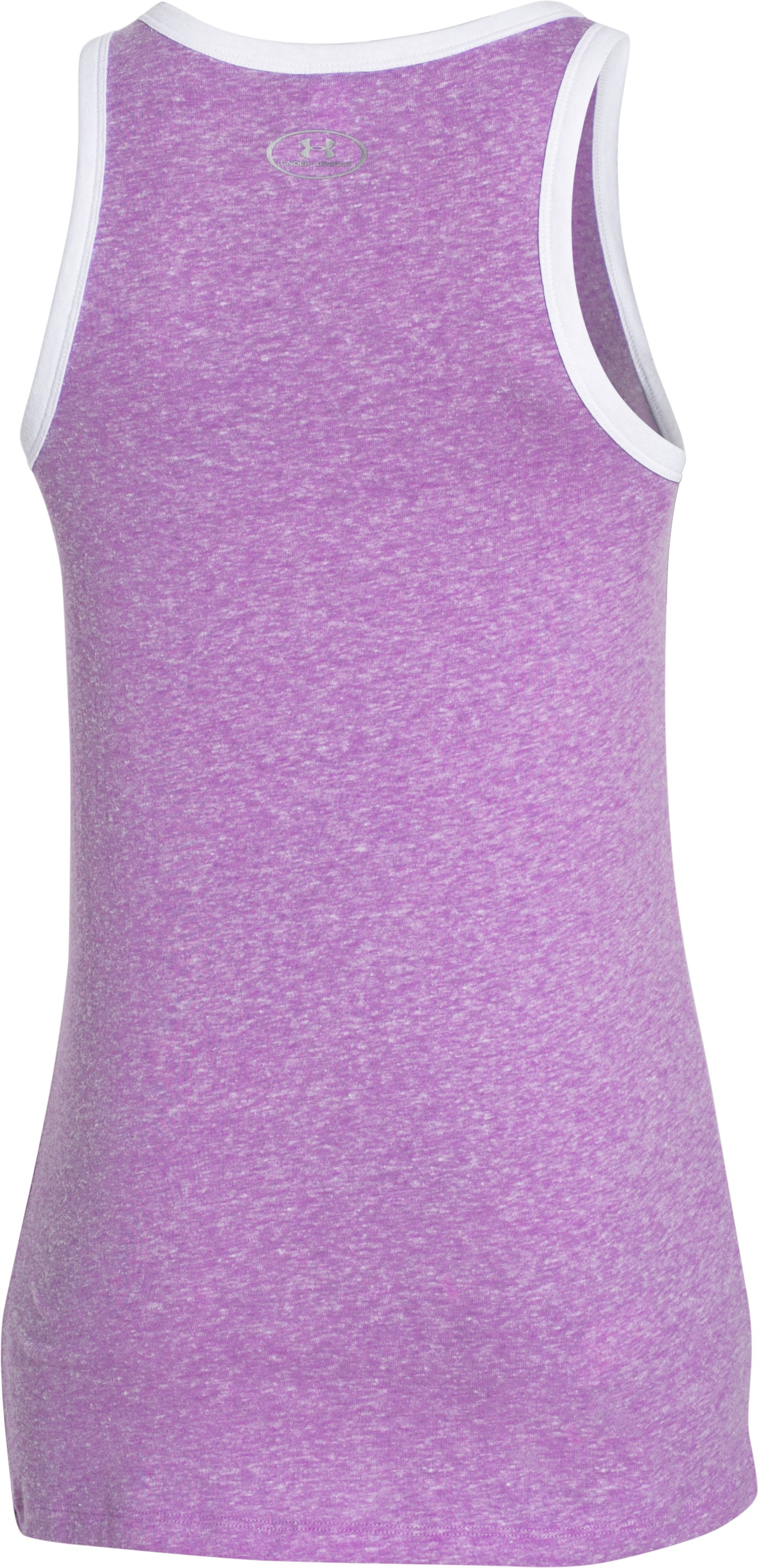 Women's UA Favorite Graphic UNDER ARMOUR Tank, MEGA MAGENTA