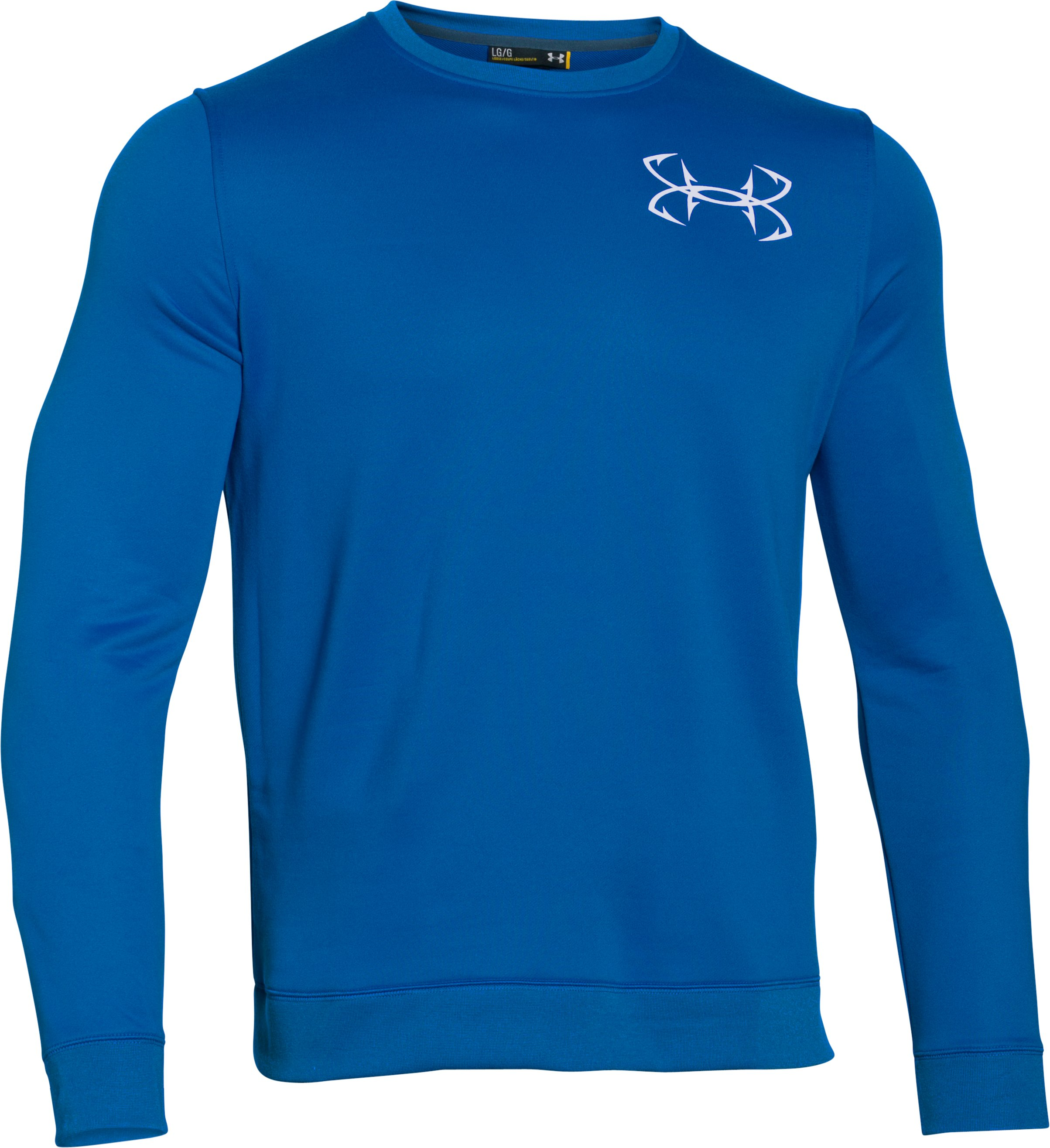Men's UA Shoreline Crew, ULTRA BLUE