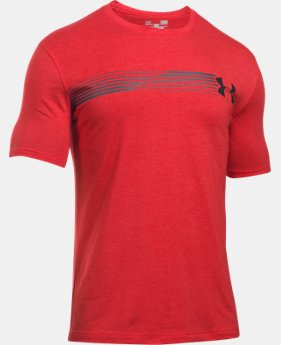 New Arrival  Men's UA Fast Logo T-Shirt LIMITED TIME: FREE SHIPPING 1 Color $27.99