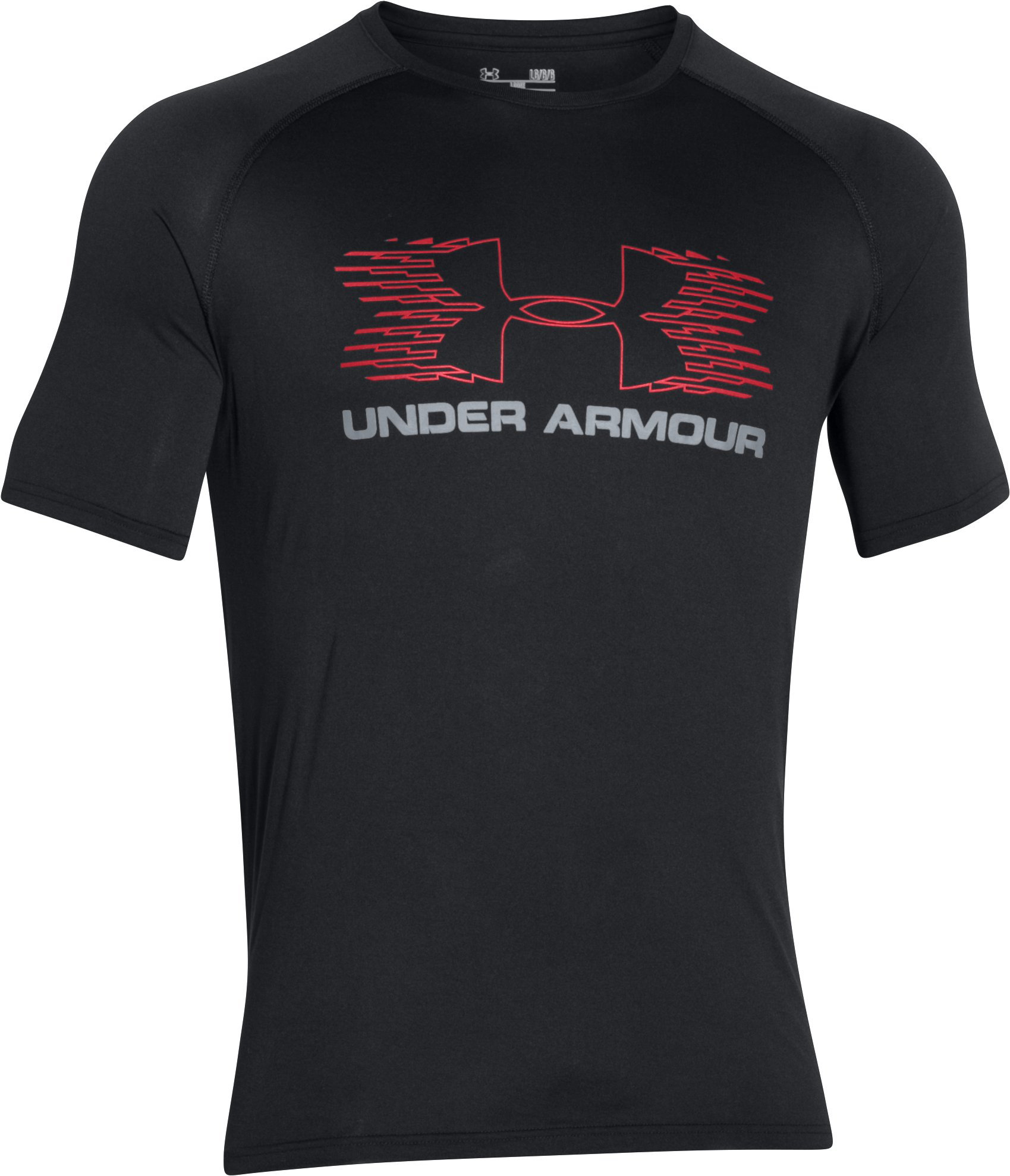 Men's UA Tech™ Sportstyle T-Shirt, Black , undefined