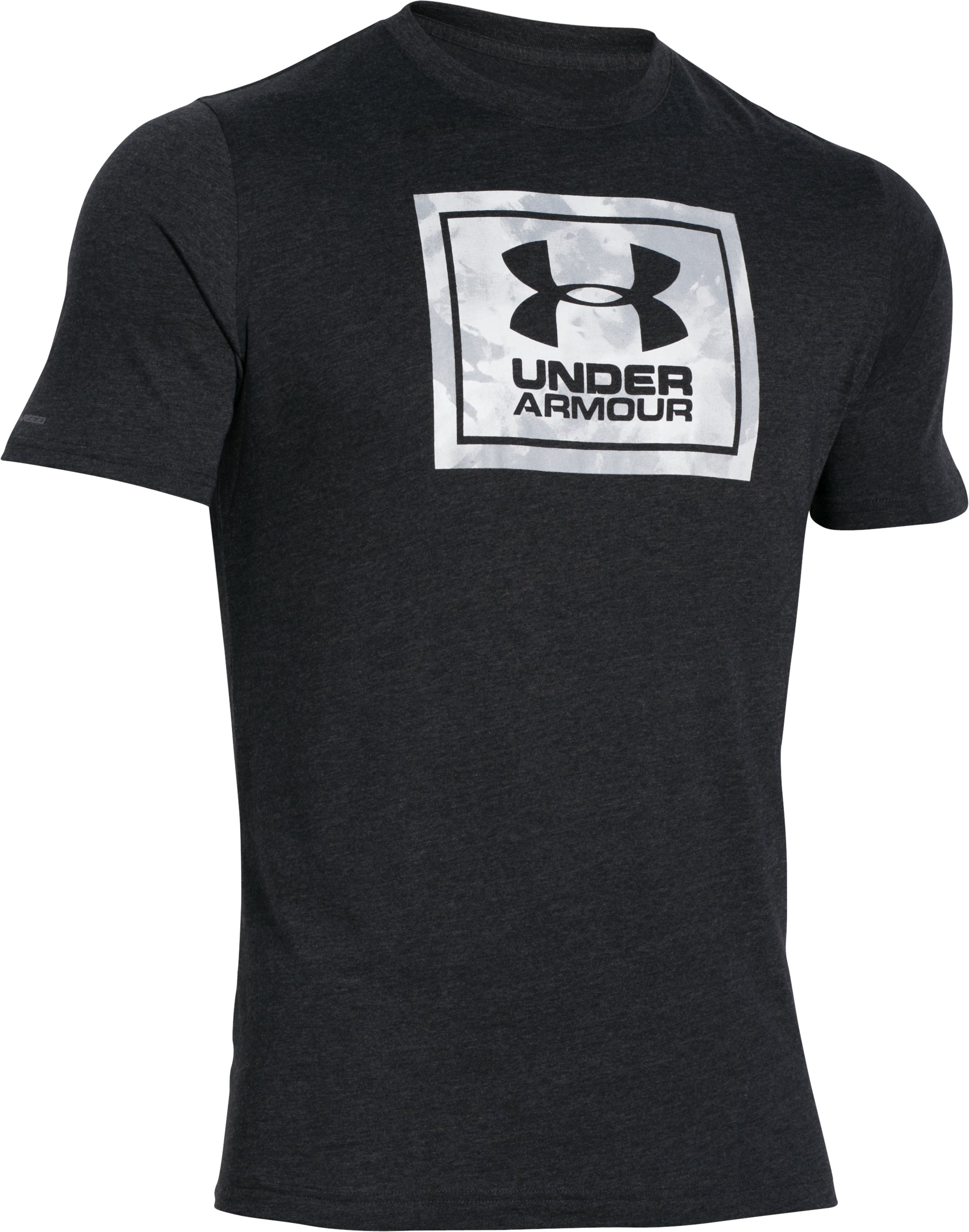 Men's UA Street Box T-Shirt, Asphalt Heather