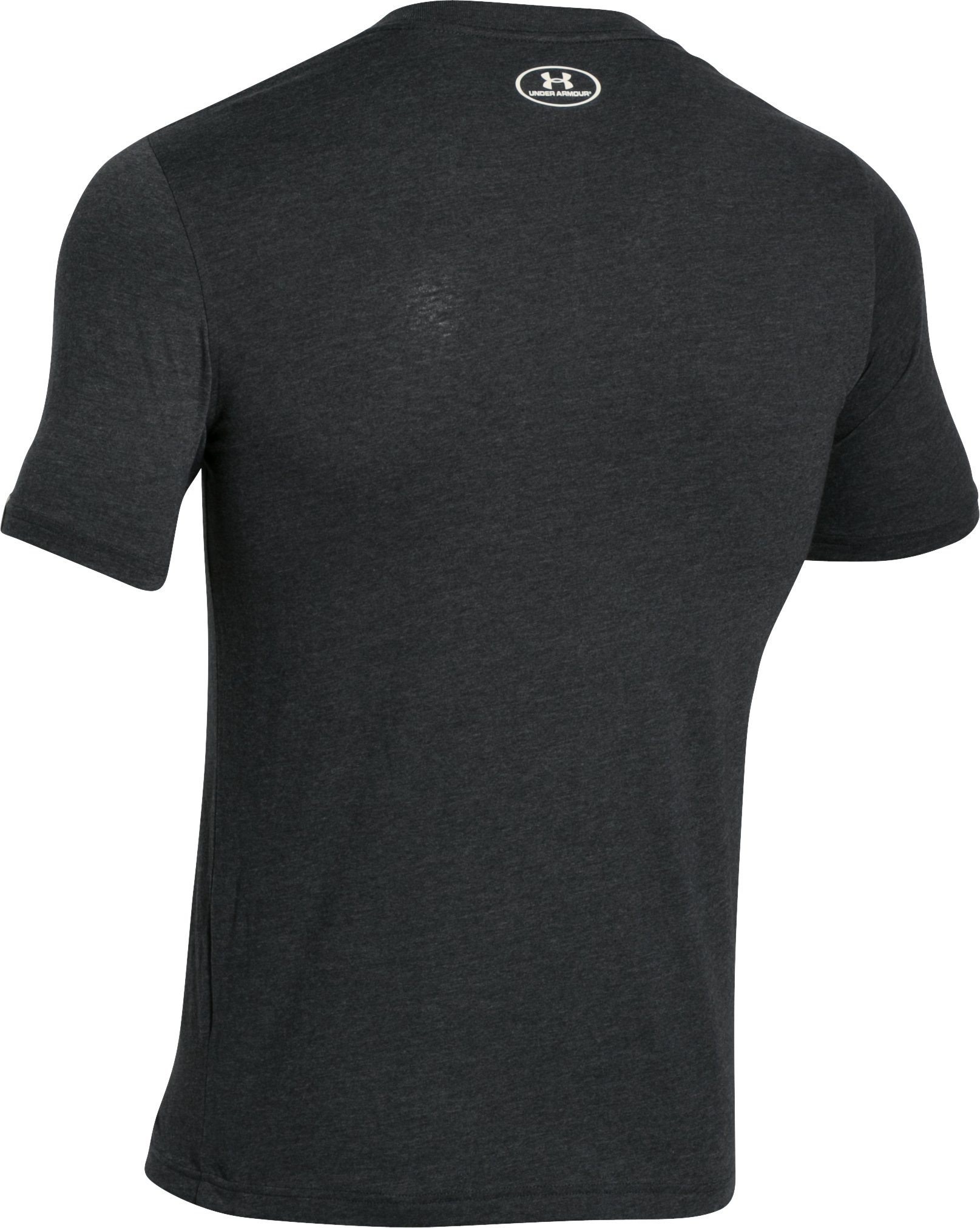 Men's UA Collegiate T-Shirt, Asphalt Heather