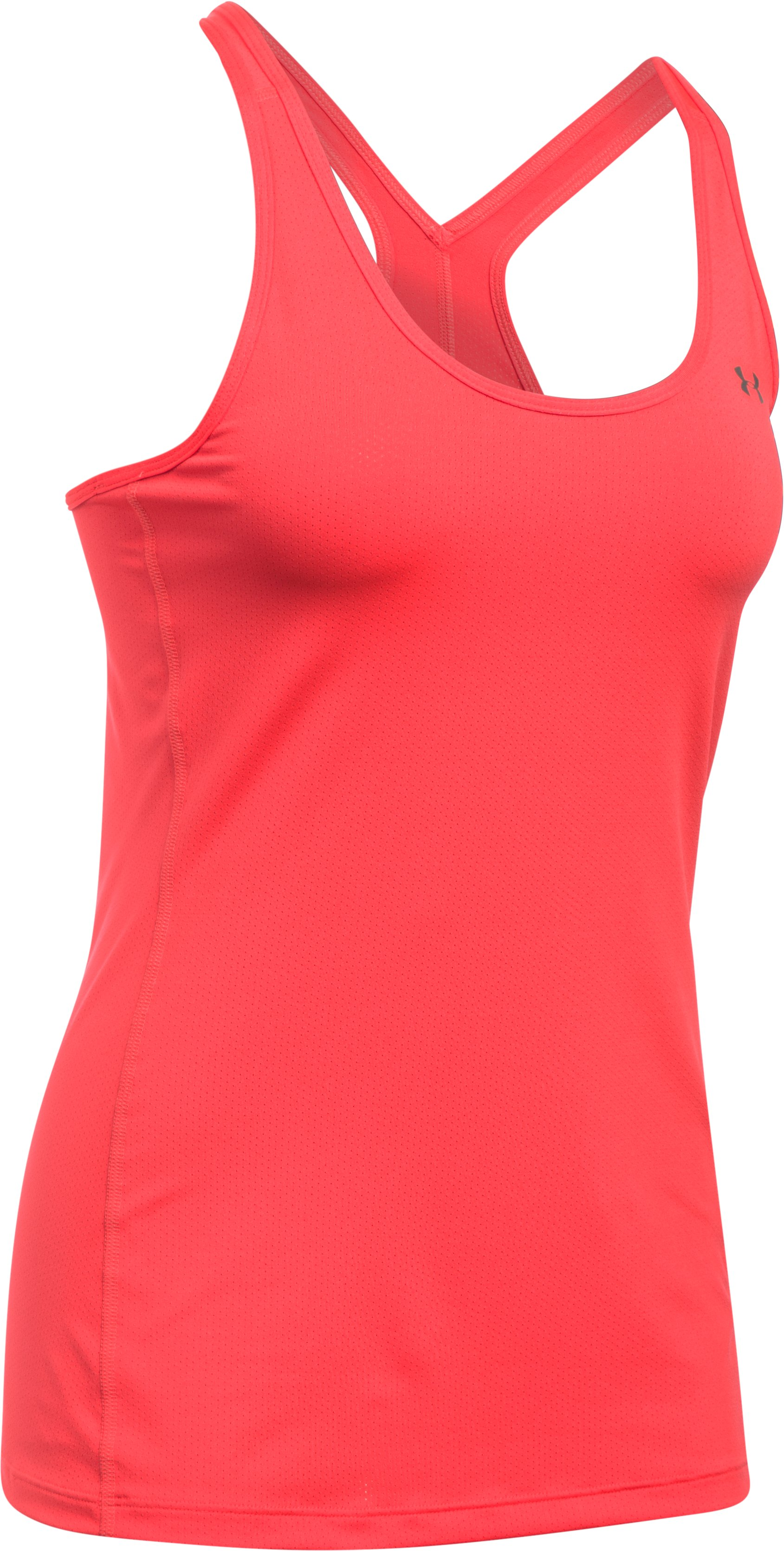 Women's UA HeatGear® Armour Racer Tank, MARATHON RED,