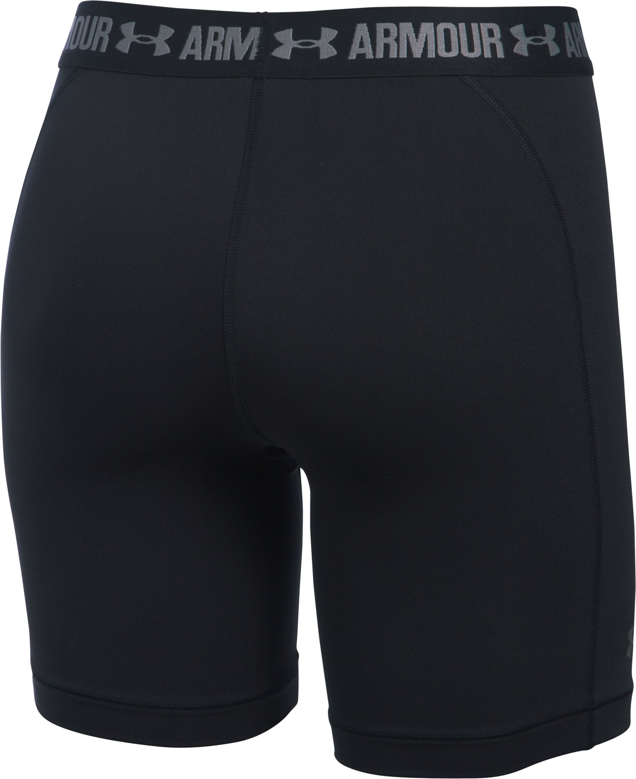 "Women's UA HeatGear® Armour 7"" Long, Black"