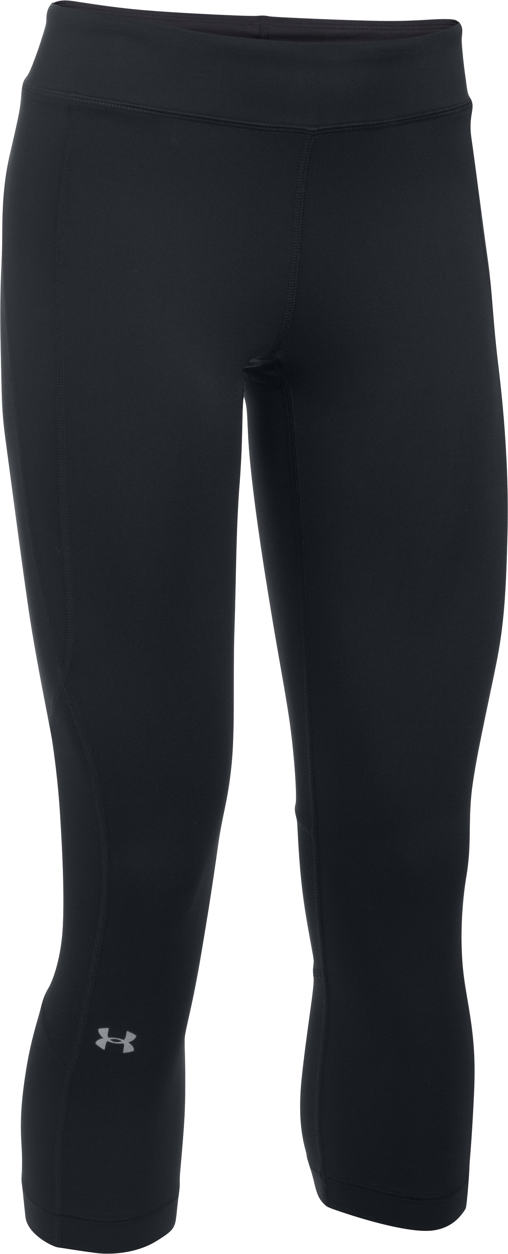 Women's UA HeatGear® Armour Crop, Black
