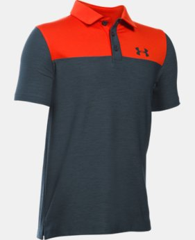 Best Seller Boys' UA Match Play Blocked Polo LIMITED TIME: FREE SHIPPING 4 Colors $34.99