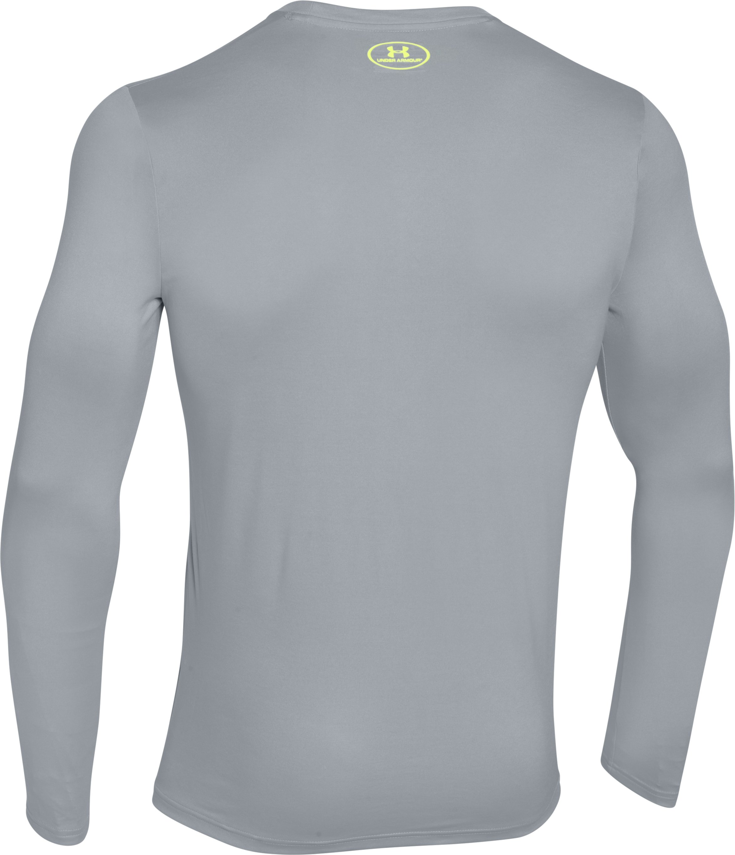 Men's UA I Fish Long Sleeve T-Shirt, AMALGAM GRAY, undefined