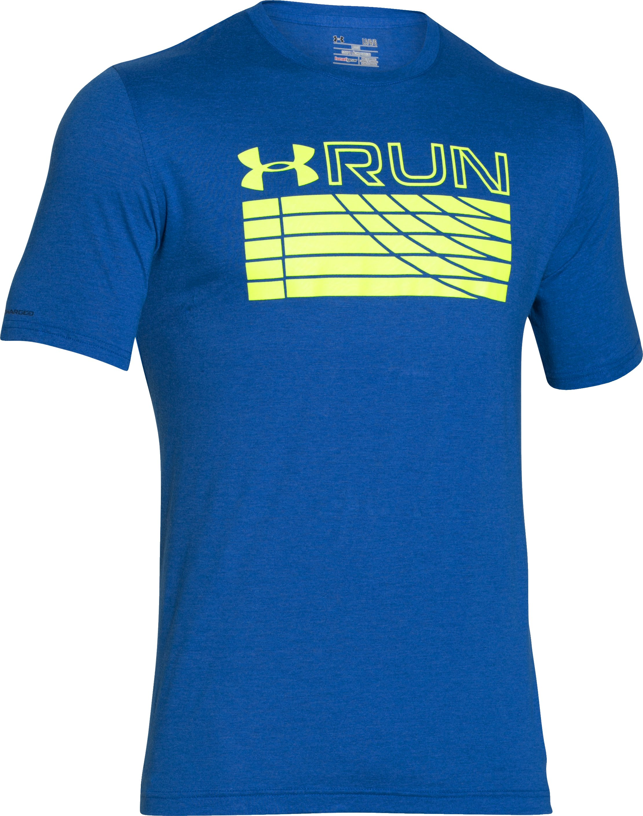Men's UA Run Track T-Shirt, ULTRA BLUE,