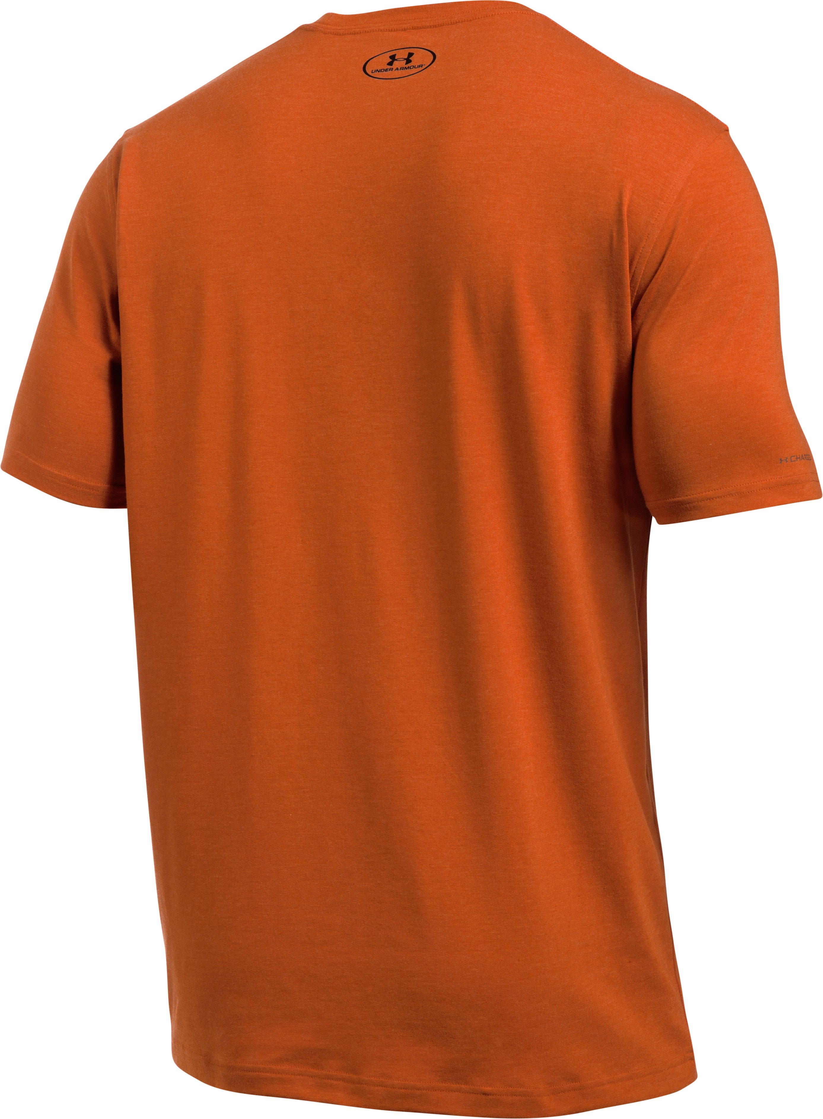 Men's UA Camo Fill Logo T-Shirt, RODEO ORANGE, undefined