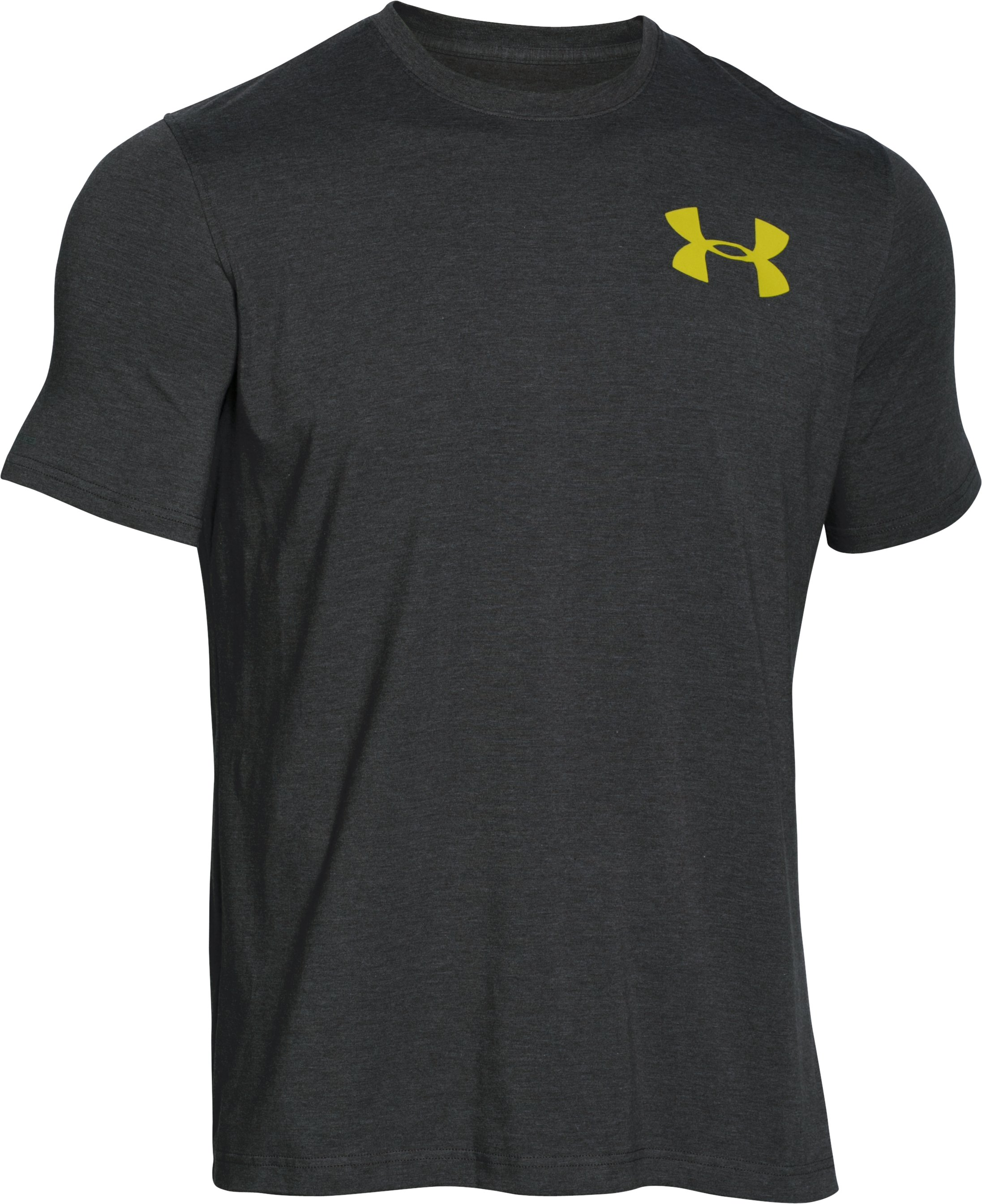 Men's UA Bass 2 T-Shirt, Carbon Heather,