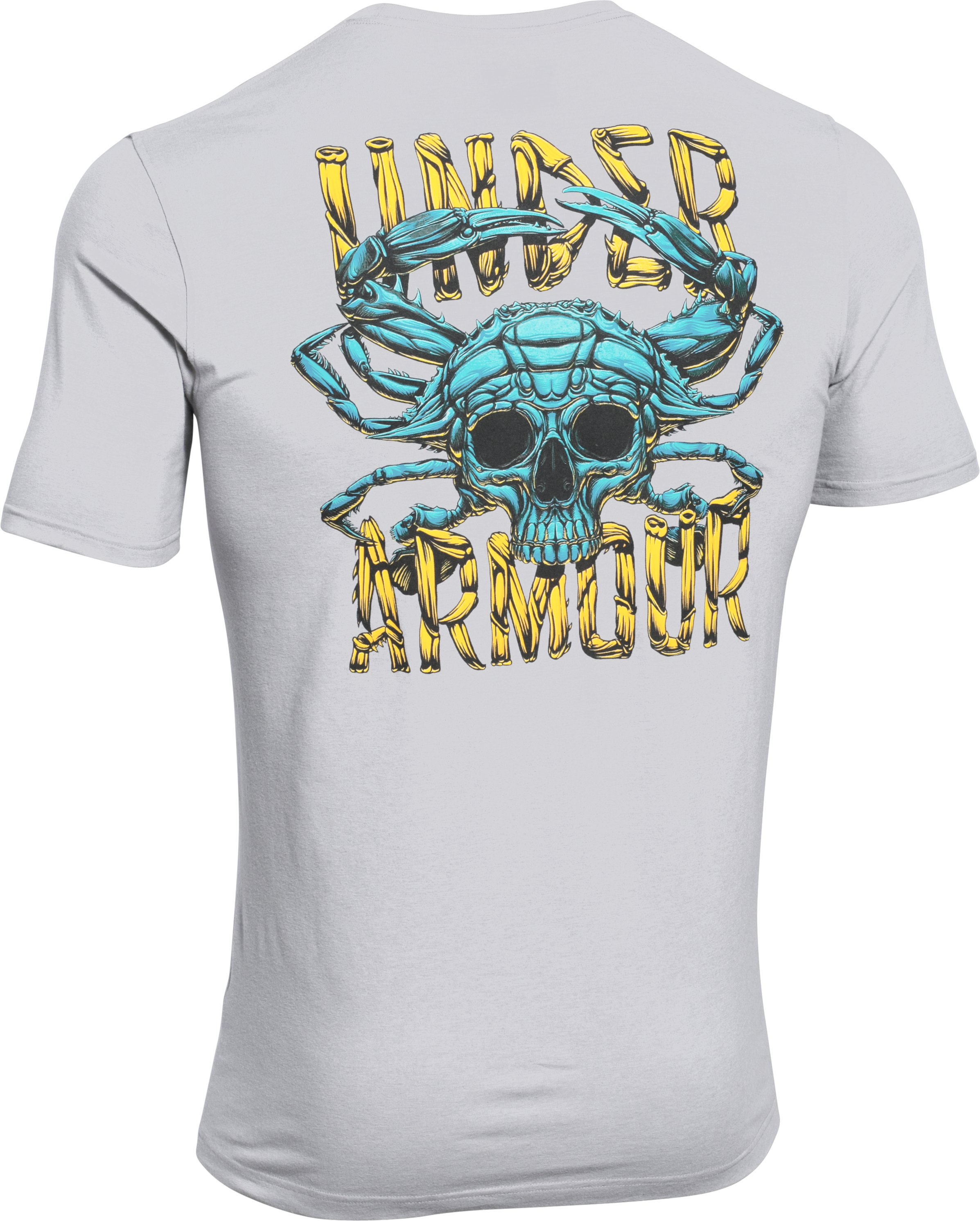Men's UA Blue Crab T-Shirt, True Gray Heather