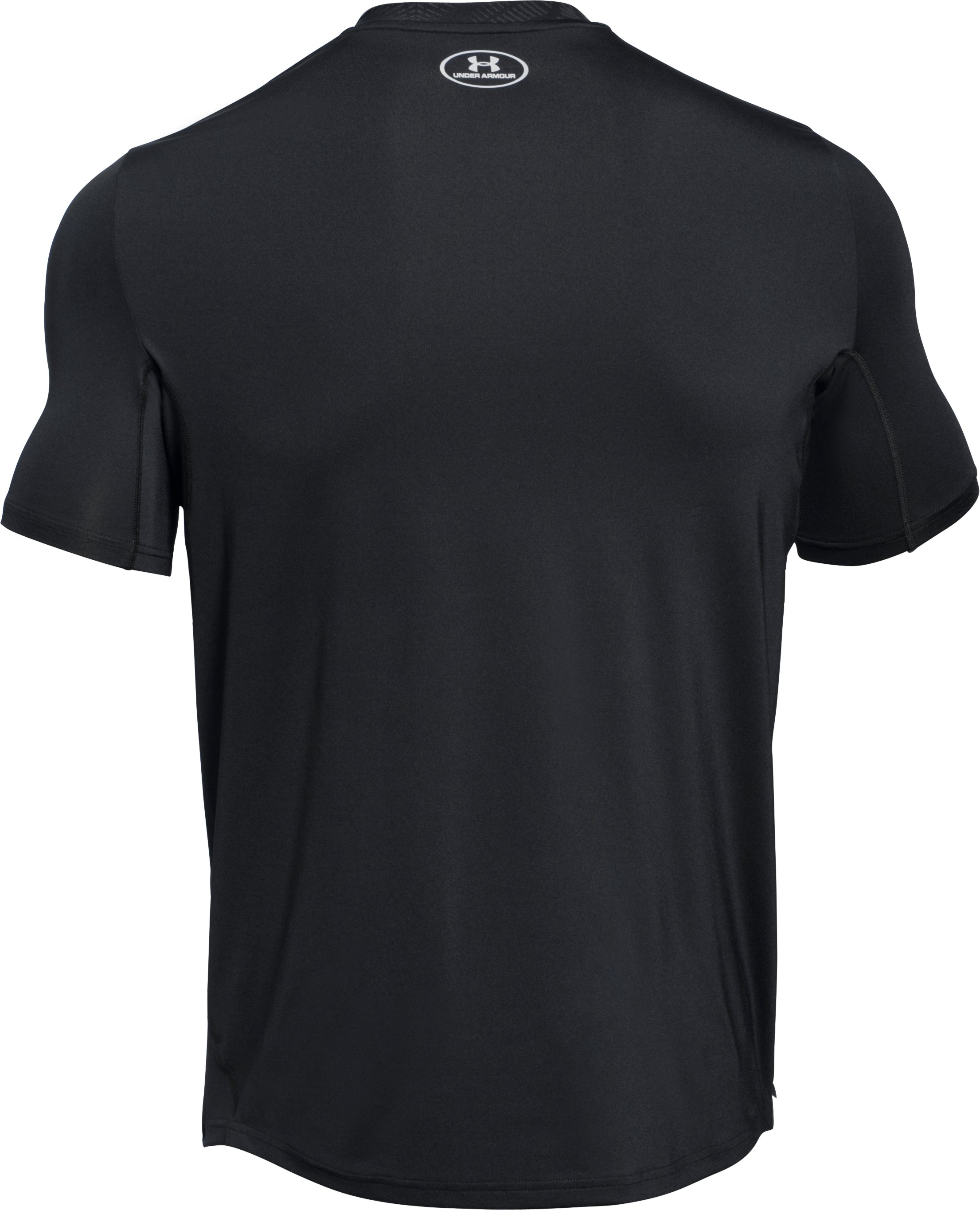 Men's UA CoolSwitch Run Short Sleeve, Black