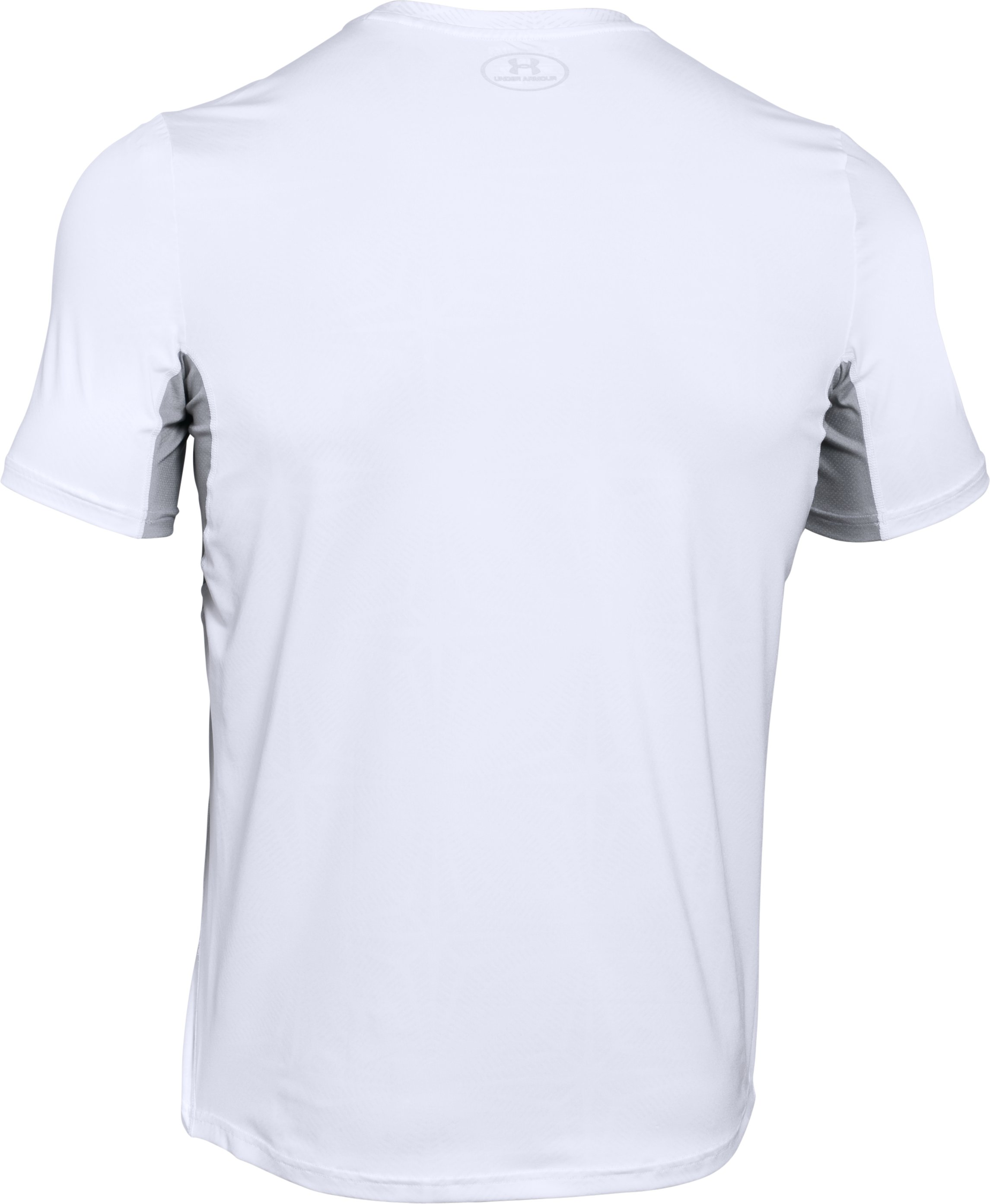 Men's UA CoolSwitch Run Short Sleeve, White