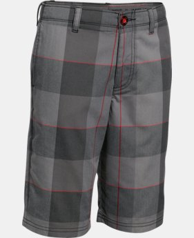 Boys' UA Printed Golf Shorts