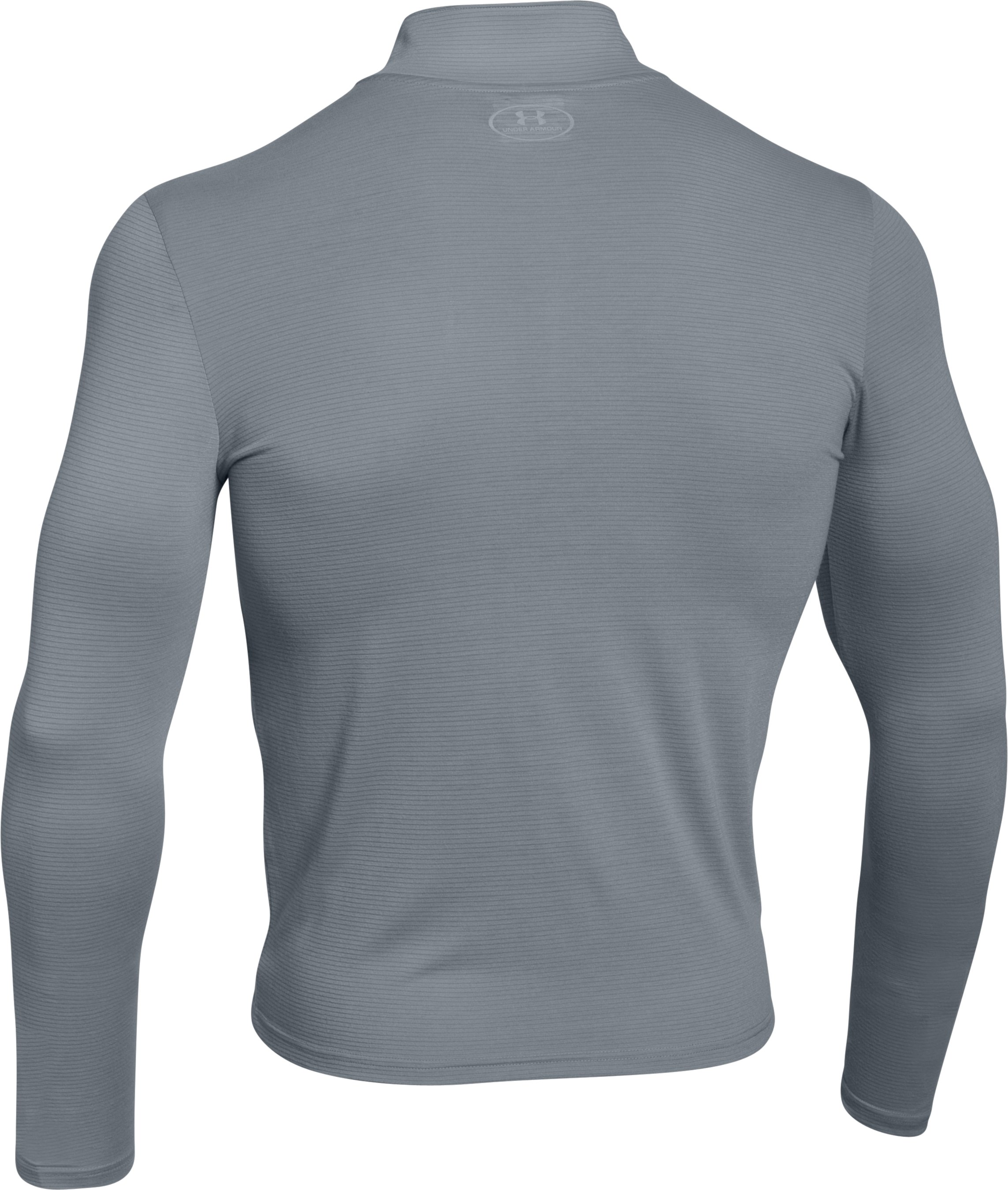 Men's UA Streaker ¼ Zip, Steel,