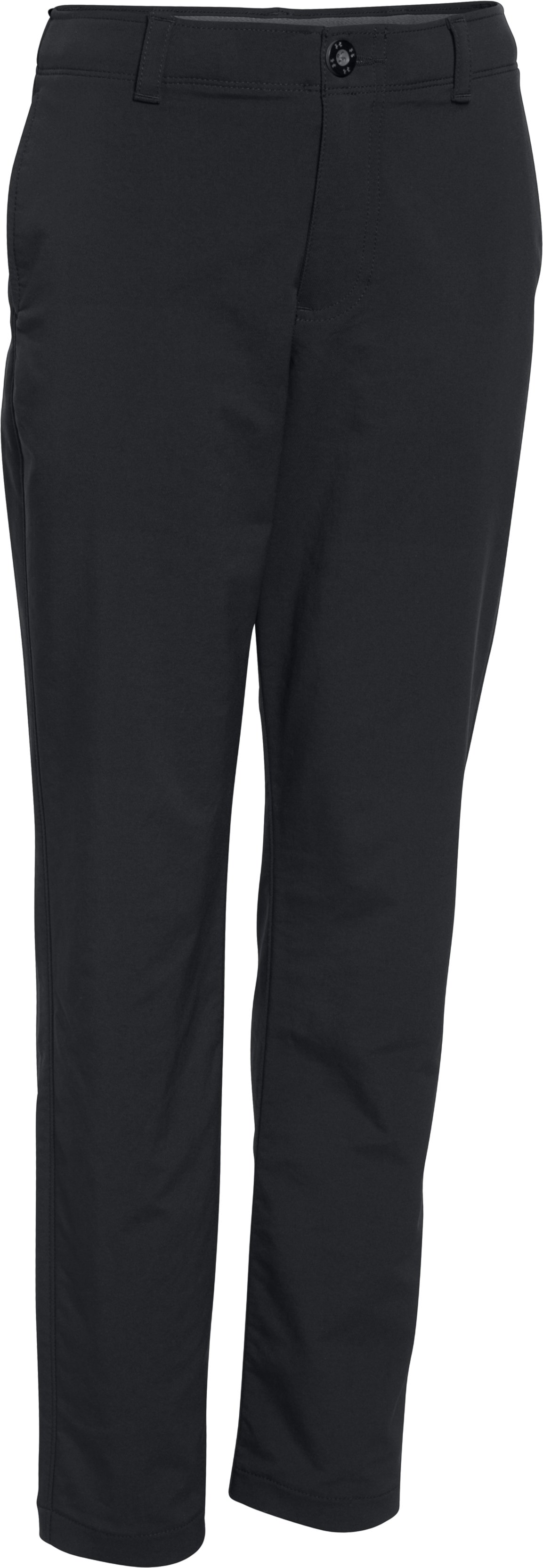 Boys' UA Match Play Pants, Black ,