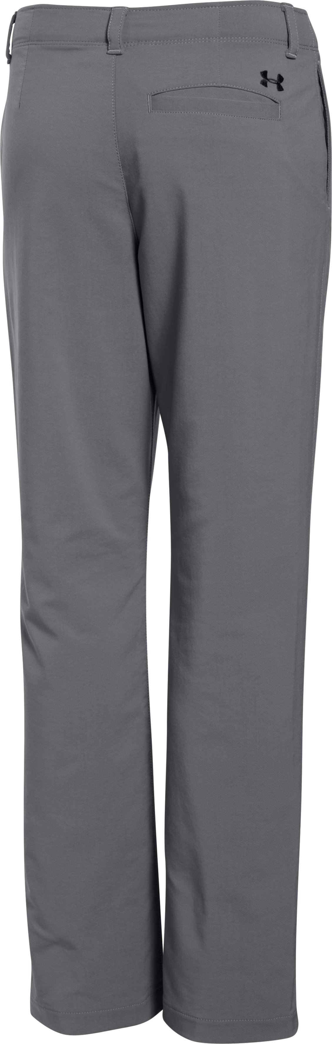 Boys' UA Match Play Pants, Graphite, undefined
