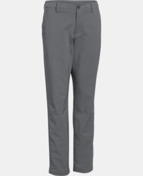 New Arrival  Boys' UA Match Play Pants LIMITED TIME: FREE SHIPPING 1 Color $74.99