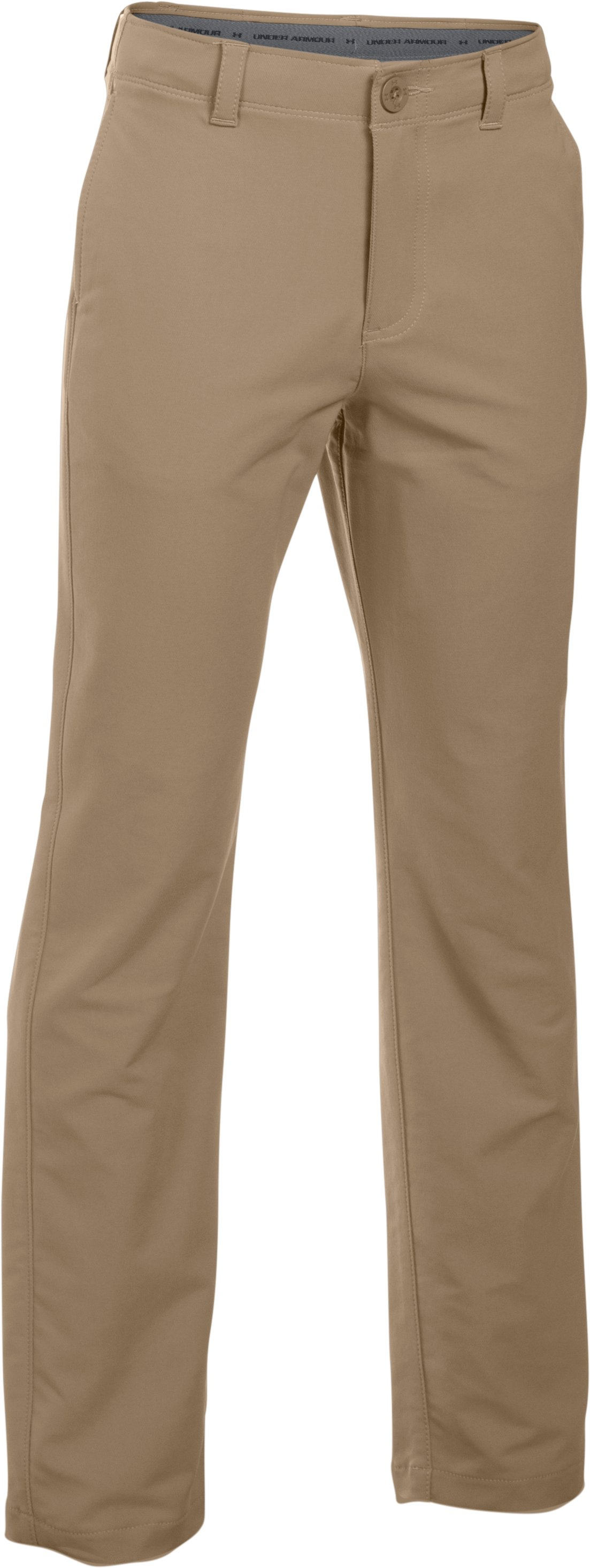 Boys' UA Match Play Pants, Canvas,
