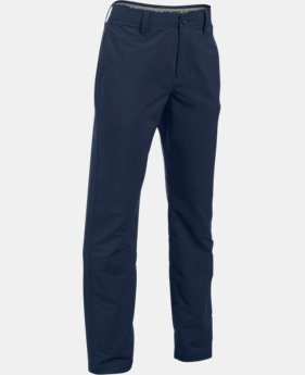 Best Seller Boys' UA Match Play Pants LIMITED TIME: FREE U.S. SHIPPING 1 Color $64.99