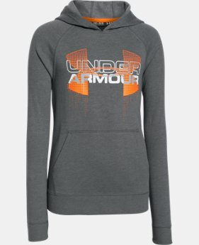 New to Outlet Boys' UA Commuter Tri-Blend Fleece Hoodie  2 Colors $29.99 to $37.99