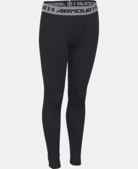 Boys' UA CoolSwitch Fitted Leggings LIMITED TIME: FREE SHIPPING 1 Color $49.99