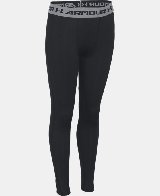Boys' UA CoolSwitch Fitted Leggings  1 Color $49.99