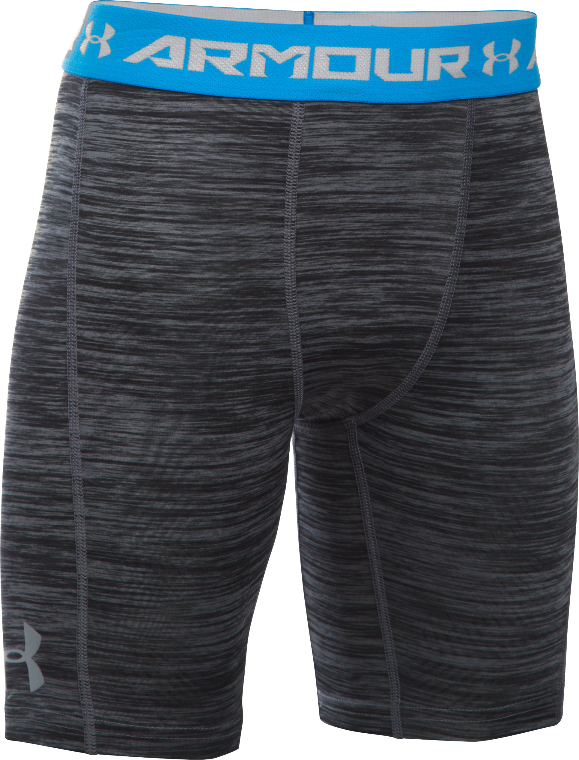 Boys' UA CoolSwitch Fitted Shorts, Graphite,