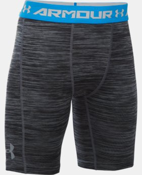 Boys' UA CoolSwitch Fitted Shorts LIMITED TIME: FREE SHIPPING 2 Colors $29.99